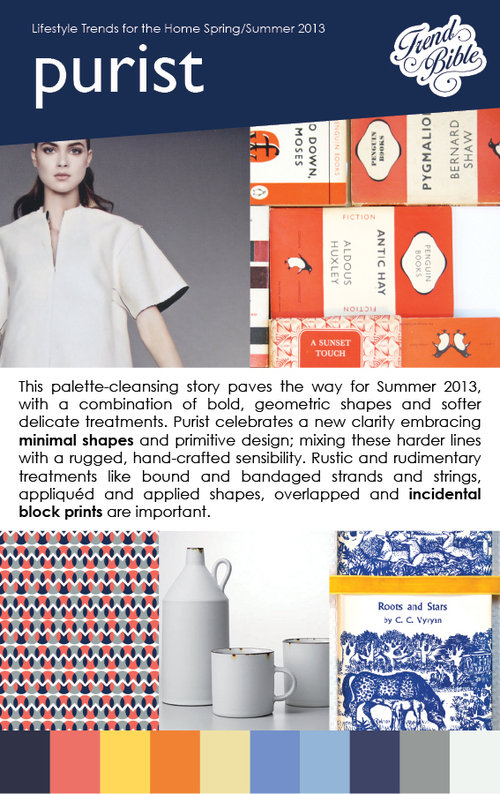 Spring Summer 2013 Trends: Color, Pattern and Themes in ...