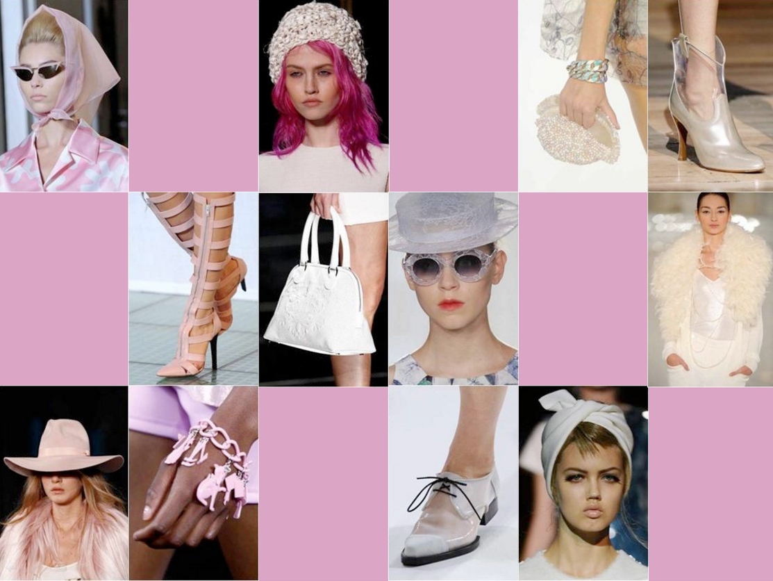 Color Trending Pink: Spring Summer 2013 Fashion Color Trends From Pantone