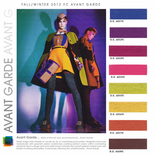Fall Fashion Color Trends 2014