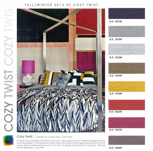 Fall Winter 2013-2014 Color Trends: Interiors