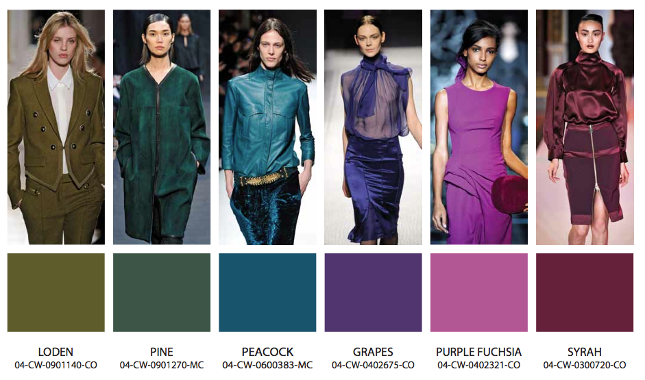 In Color! Fall Winter 2013-14 Fashion Trends | Blue Bergitt