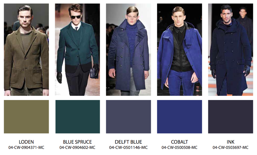 in color fall winter 201314 fashion trends � blue bergitt