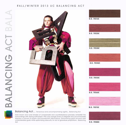 Fashion Color Trends 2014