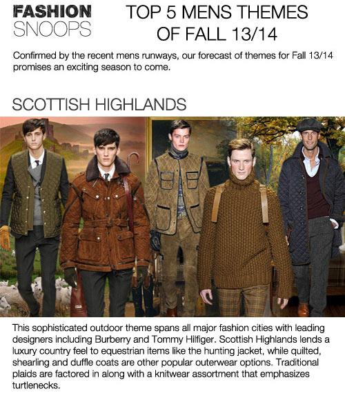 Men's Winter Fashion Trends 2013