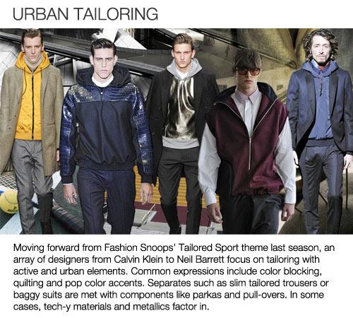 Fall Winter 2013-2014 Fashion Trends – Menswear – Blue Bergitt
