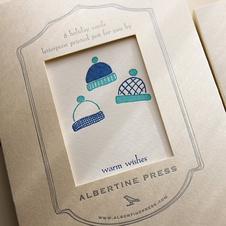 Albertine Press - Hats, $15/6