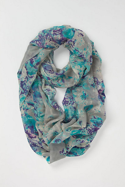 Anthropologie Reflected Garden Loop Scarf, $48
