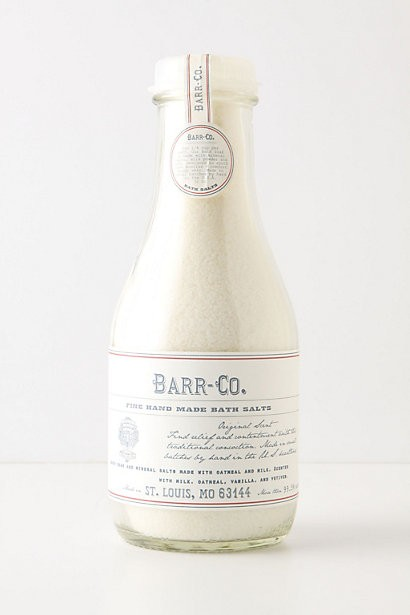 Barr Bath Salts, $32