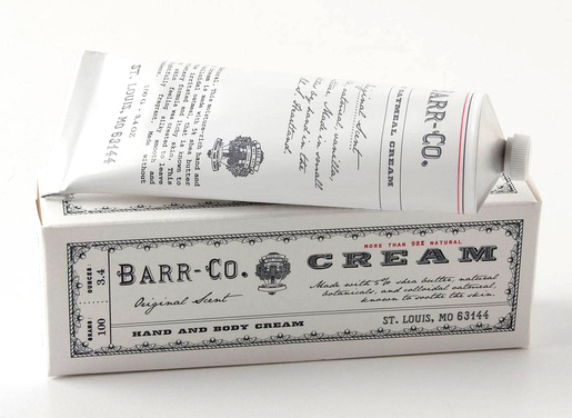 Barr Co. Hand Cream, $24