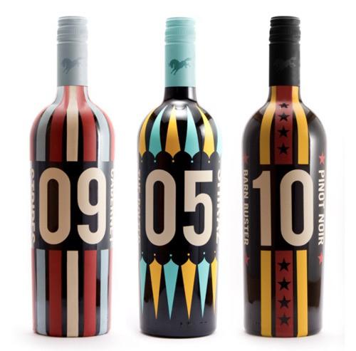 Circus Wine Packaging