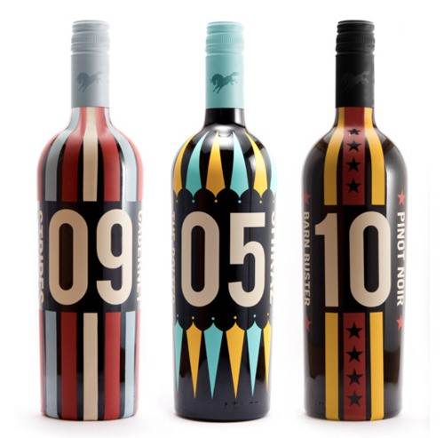 Circus Wine Packaging