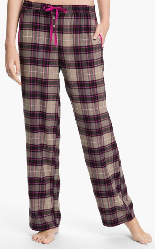 DKNY Flannel PJ's, $44