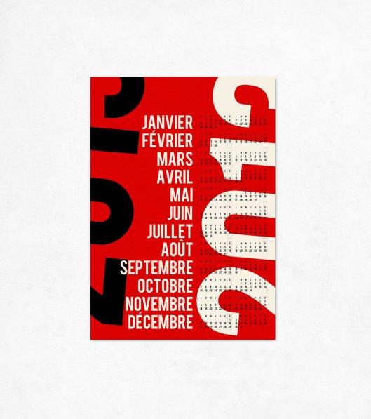 Edubarba Extra Large Calendar One Sheet, €9.00