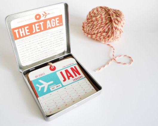 Girl Gear Studio - Jet Age Calendar