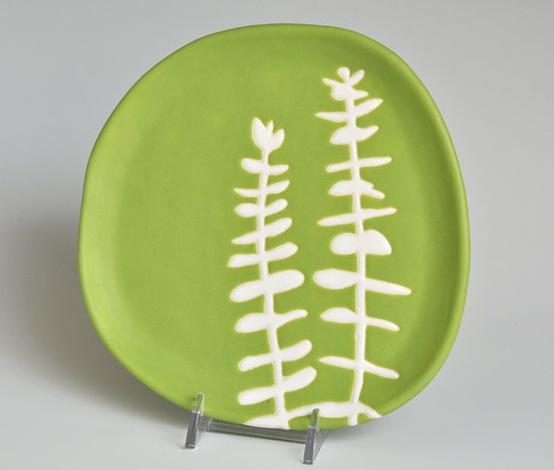Hope Johnson Dessert Plate, $34