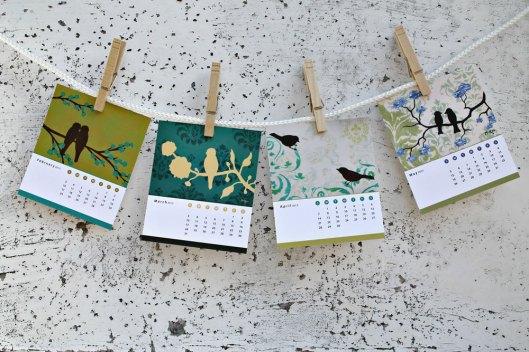 Loria McKee - Bird Desk Calendar, $14