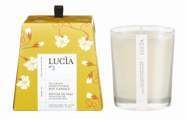 Lucia - Soy Candle, $19.99