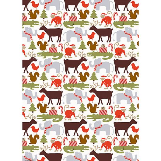 Paper Source - Holiday Animals, $2.50 / sheet