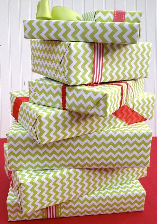 Paperjacks - Chevron in green, $7.99 / roll