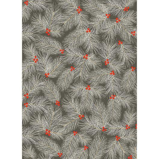 Paper Source - Pine Branch on Slate, $2.50 / sheet
