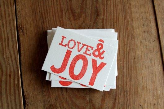 Red Bird Ink - Love & Joy, $18/6