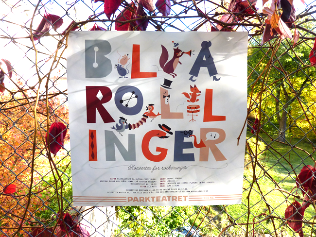 Poster & Flyer for Blårollinger