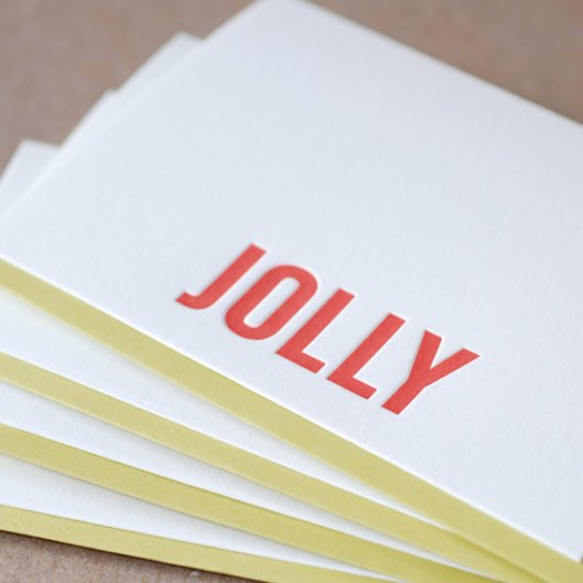 Ruby Press - Jolly, $85/50