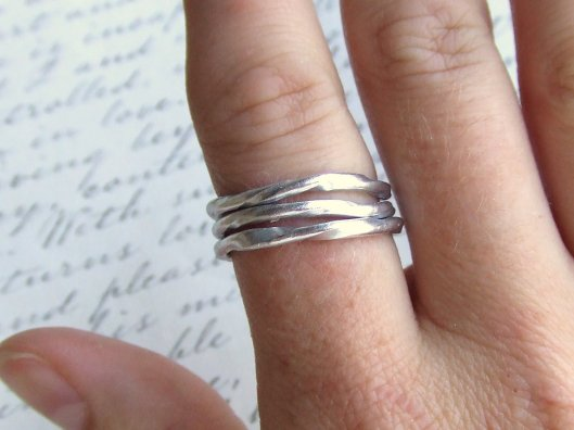 Deanne Watson Jewelry - Set of 3 stacking rings, $13.95