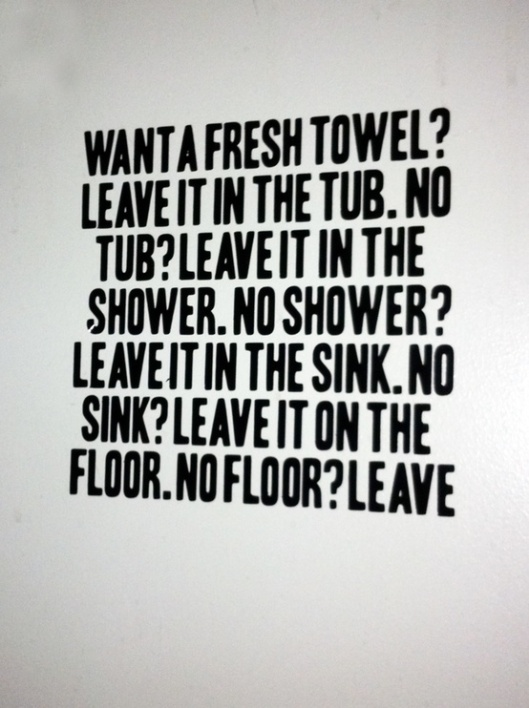 Ace Hotel NYC Towels