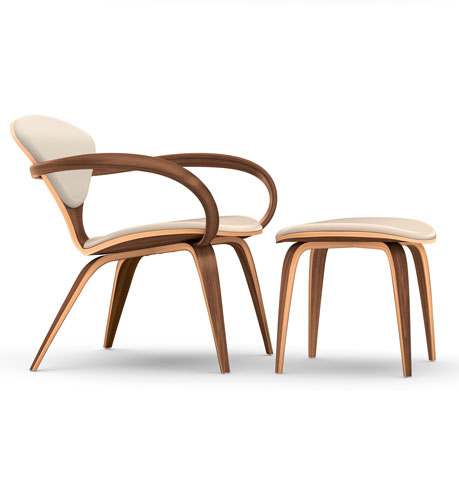 Cherner Lounge Chair & Ottoman (not yet available on-line)