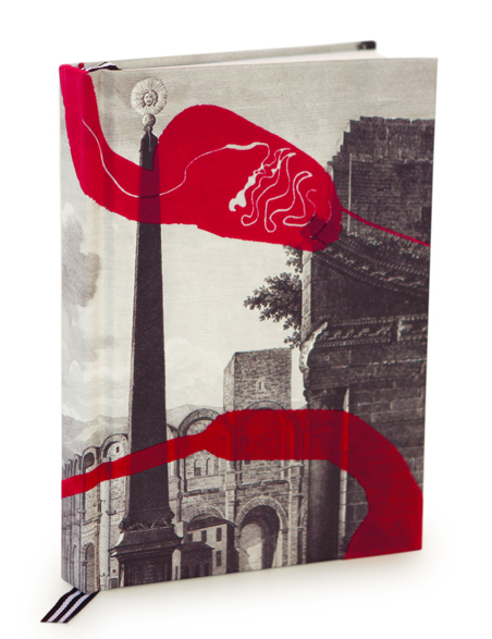 Christian Lacroix Arles Flocked Velvet Journal, $23