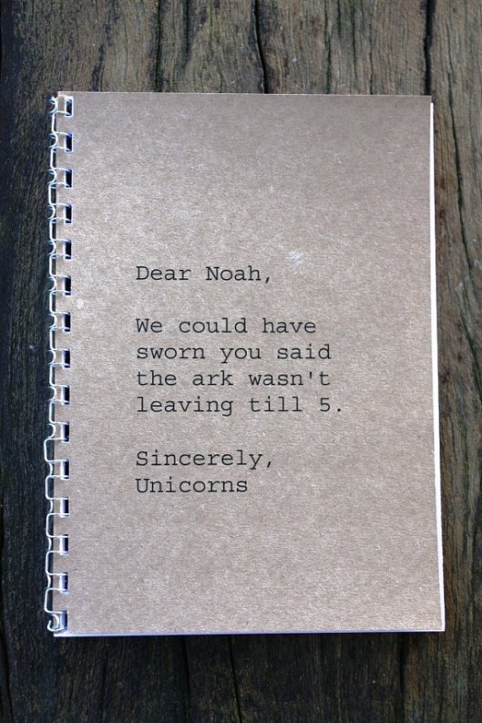 Anrol Designs Dear Noah Journal, $8.50