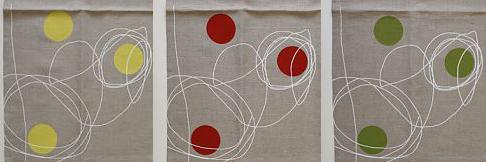 Dinah Coops - Linen Tea Towel