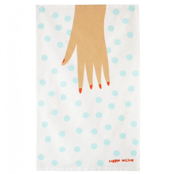 "Donna Wilson ""Handy""  Linen/Cotton Tea Towel, £12"