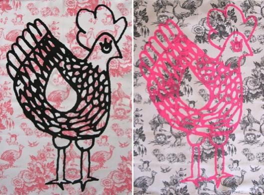 La Cocotte Paris - Chicken Tea Towels, €14.50