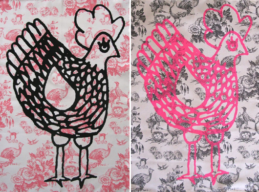 La Cocotte Paris - Chicken Tea Towels, €14.50