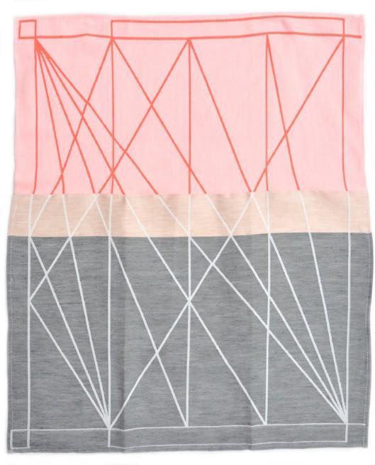 Mae Engeleer - Color Fest Tea Towel, $25