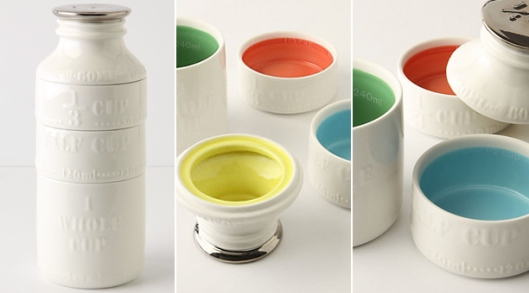 Milk Bottle Measuring Cups @ Anthropologie