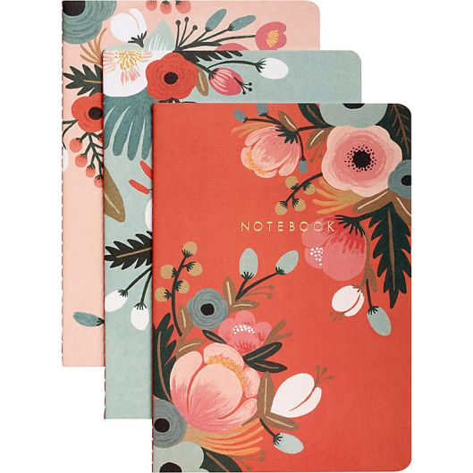 Rifle Paper Set of 3 Journals, $12.95