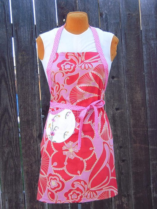 So Cal Gal Mercantile - Graphic Apron, $35