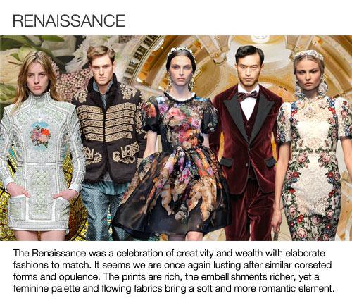 fw14 Trend_10_Renaissance
