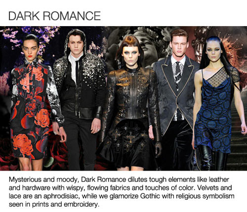 fw14 Trend_4_Dark Romance