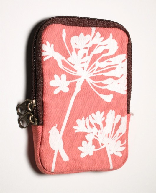 Coral Cardinal iPod Pouch, $17