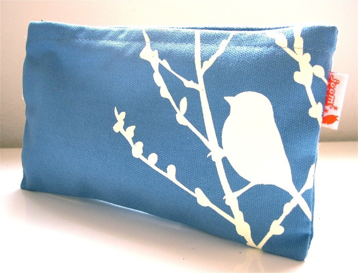 Blue Bird Pouch, $18