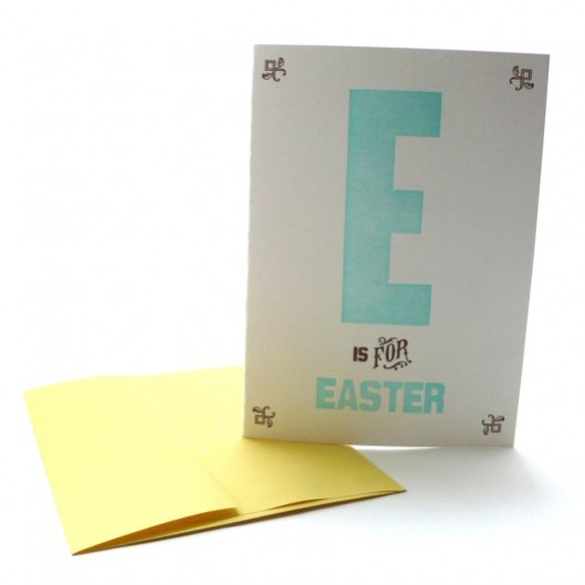 Heartfish Press - E is for Easter, $5
