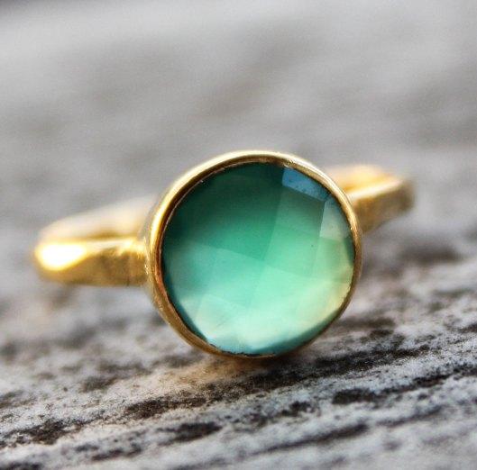 Oh Kuol - Green Ring, $57