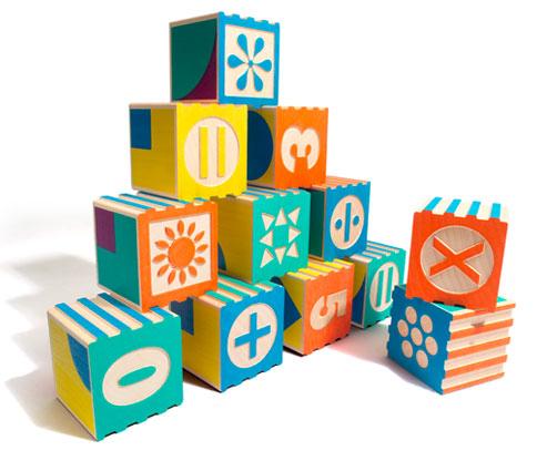 Groovie Math Blocks set of 28, $43