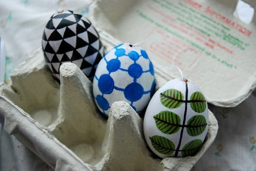 Hand-painted easter eggs 2