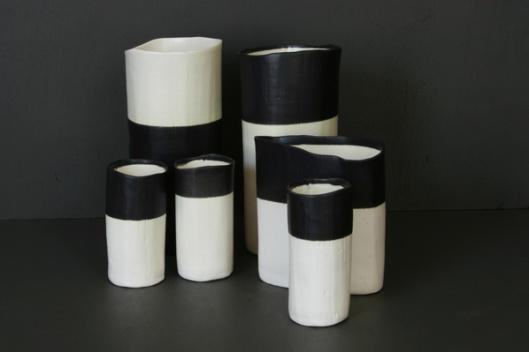 JG dip vases
