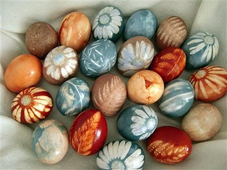 Natural Dye Eggs